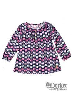 Комплект для девочки туника рукав 3/4 logo + легенсы Juicy Couture 009464452 1