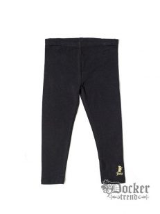 Комплект для девочки туника велюр blk/wht leo+ легинсы blk Juicy Couture 009473362 1