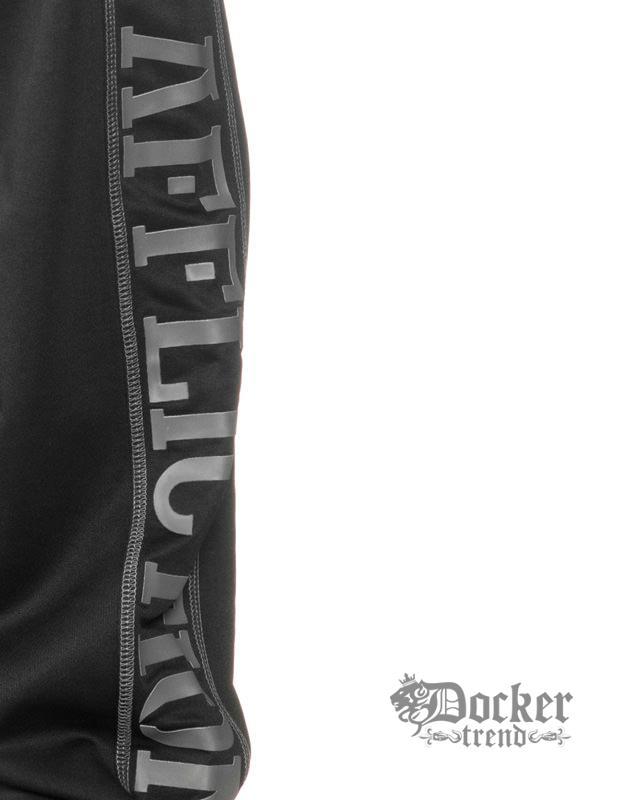 Брюки спортивные мужские Affliction 110PT011blk-grey