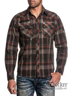 Рубашка мужская Affliction 110WV312 1
