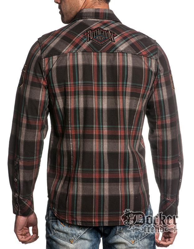 Рубашка мужская Affliction 110WV312