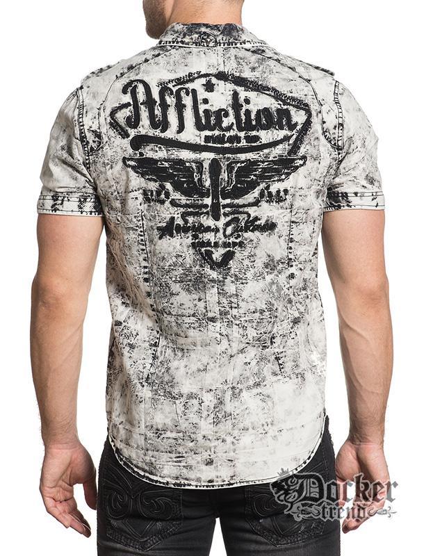 Рубашка мужская Affliction 110WV564