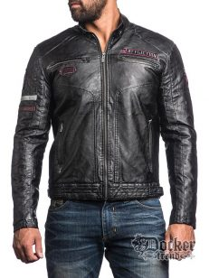 Куртка мужская  Affliction 110ow202 blk
