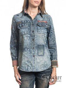 Рубашка женская Affliction 111WV148 1