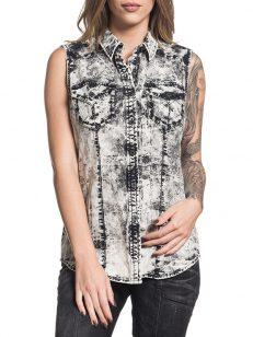 Рубашка женская Affliction 111WV153 1