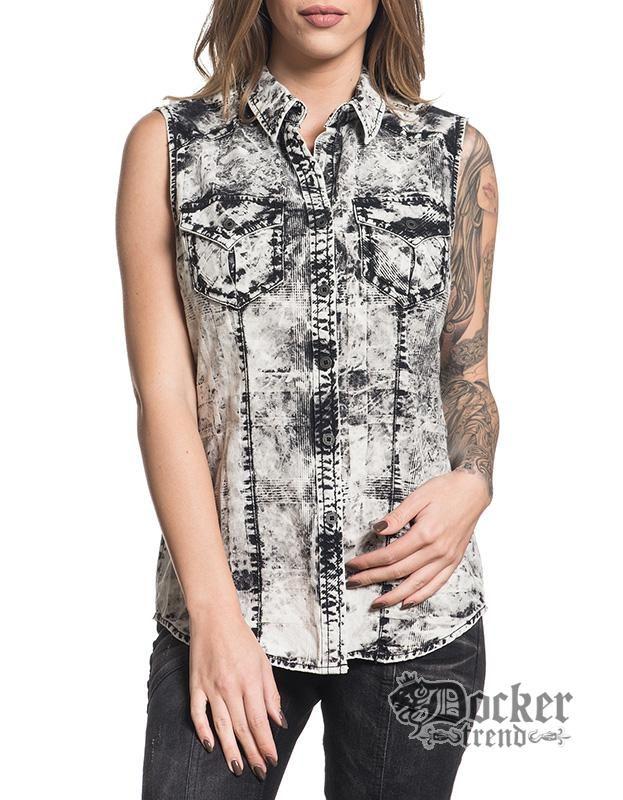 Рубашка женская Affliction 111WV153