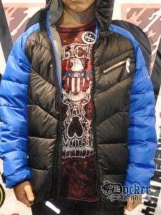 Куртка c капюшоном на пуху Hawke 433767042009 1