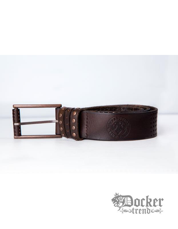 Ремень Affliction A1012 brown