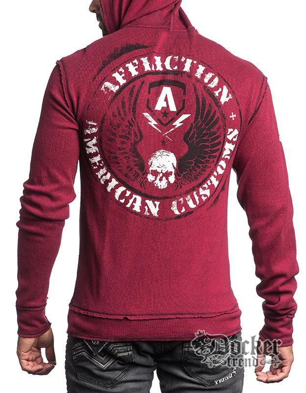 Кофта с капюшоном мужская Affliction  A12430
