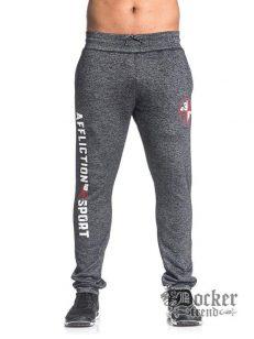 Спортивні брюки чоловічі A14017 blk 1