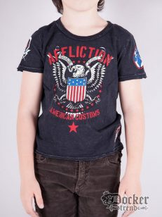 Футболка для мальчика Affliction A7364blk