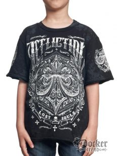 Футболка для мальчика Affliction  A8209blk