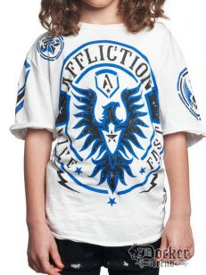 Футболка для мальчика Affliction A8215white