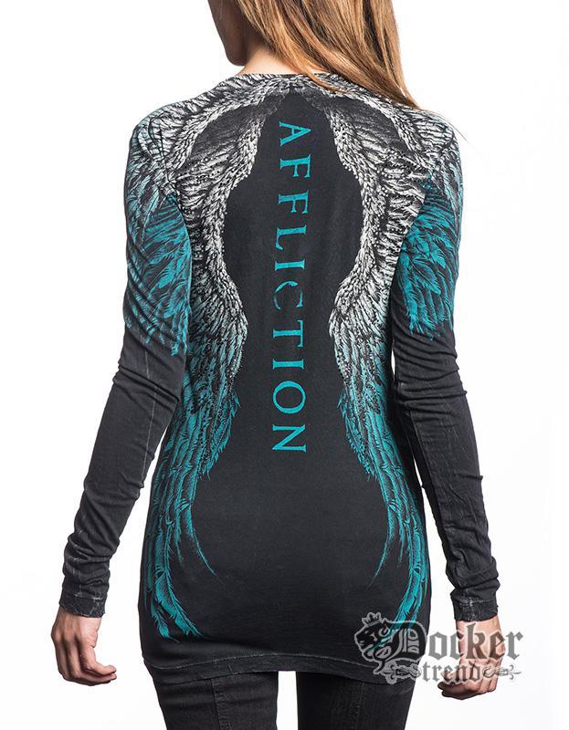 Футболка женская с длинным рукавом Affliction AW13174