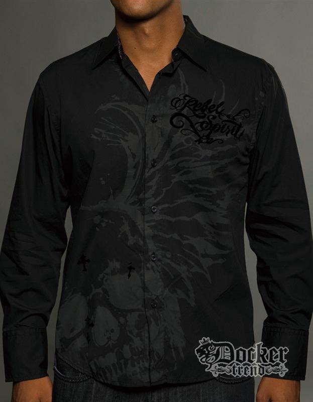 Рубашка мужская Rebel Spirit LSW121295