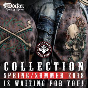 Коллекция Affliction весна - лето 2018