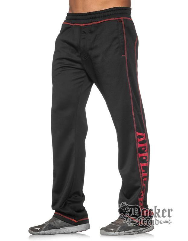 Брюки спортивные мужские Affliction 110PT011blk-red
