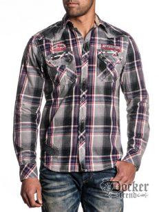 Рубашка мужская Affliction 110WV307