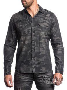 Рубашка мужская Affliction 110WV421