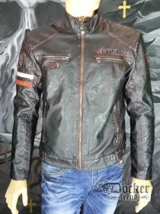 Куртка мужская  Affliction 110ow202 brown