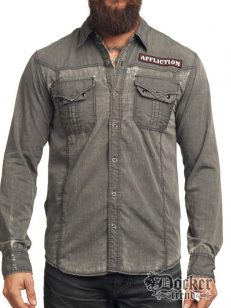 Рубашка мужская Affliction 110wv083