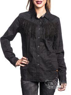 Рубашка женская Affliction 111WV137