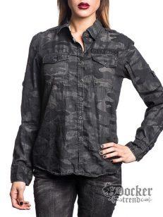 Рубашка женская Affliction 111WV138