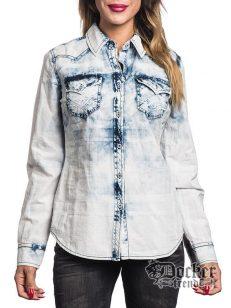 Рубашка женская Affliction 111WV141