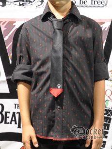 Рубашка с галстуком для мальчика blk DRILL 15293909