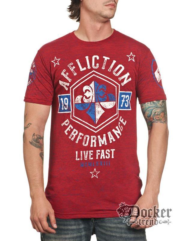 Футболка мужская Affliction A8698