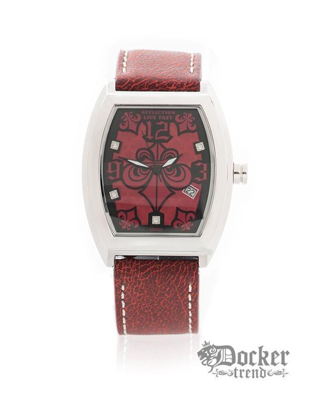Часы AF3733 steelred