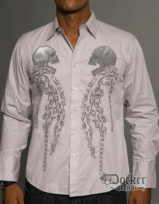 Рубашка мужская Rebel Spirit LSW121204