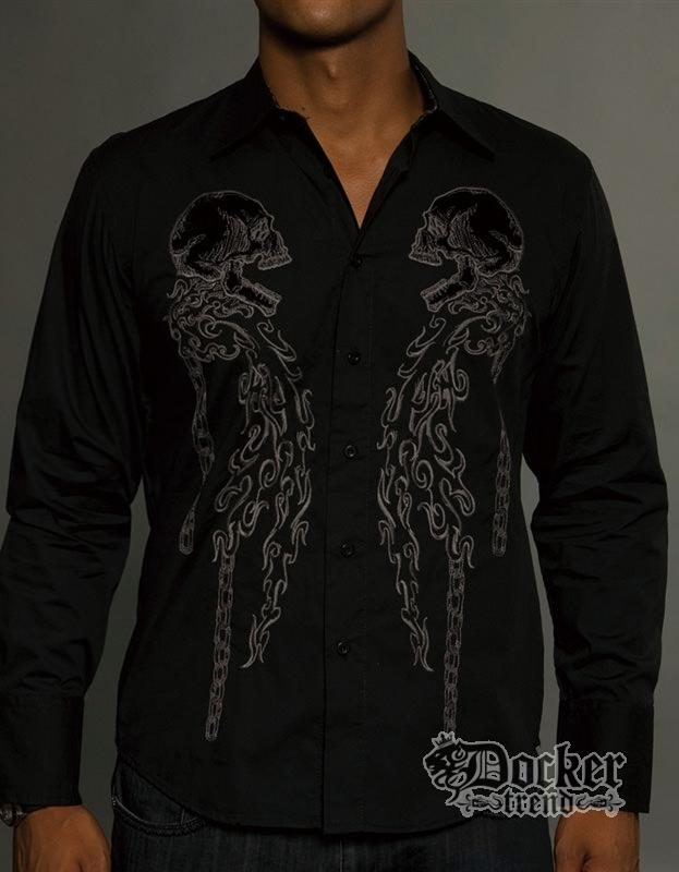 Рубашка мужская Rebel Spirit LSW121205