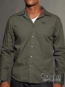 Рубашка мужская Rebel Spirit LSW121281 OLV 1