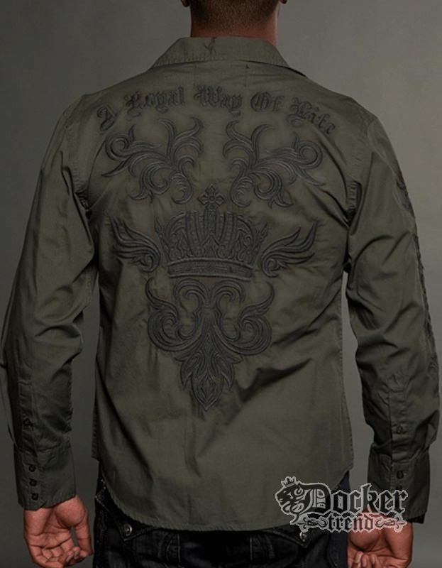 Рубашка мужская Rebel Spirit LSW121281 OLV