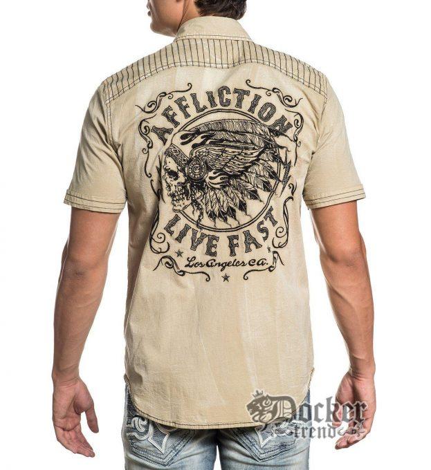 Рубашка мужская Affliction 110WV770