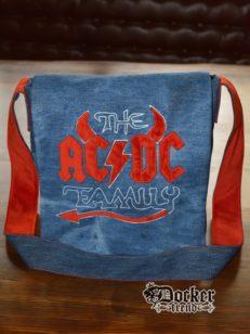 Сумка с логотипом AC/DC Family.