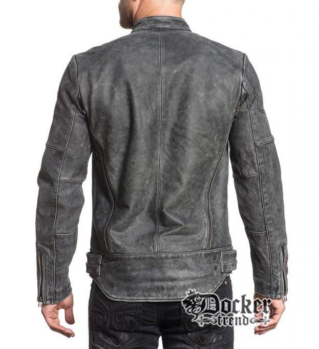 Куртка Affliction 110OW283 чоловіча вид зі спини
