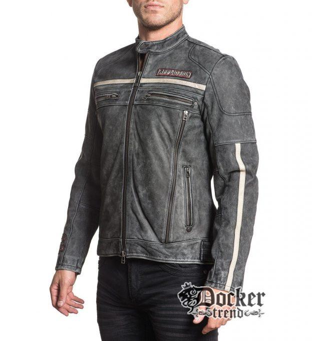 Куртка Affliction 110OW283 чоловіча вид збоку