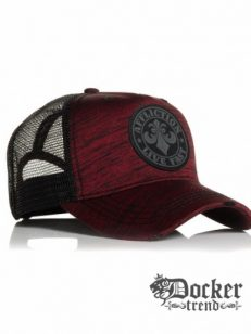 Кепка Affliction Johnny Hat Red Black ANHT10132
