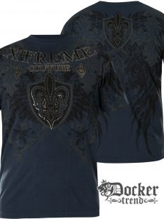 Футболка мужская Xtreme Couture Doppleganger Dark Blue X1895