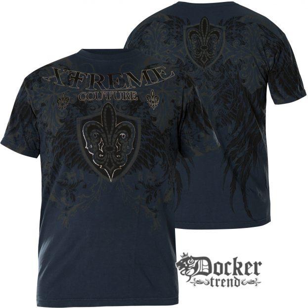 Футболка мужская Xtreme Couture Doppleganger Dark Blue X1895
